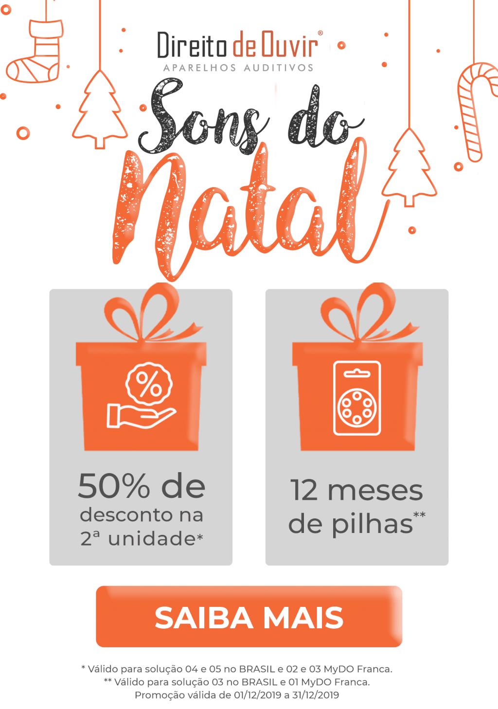 Direito de Ouvir Aparelhos Auditivos - Natal 2019