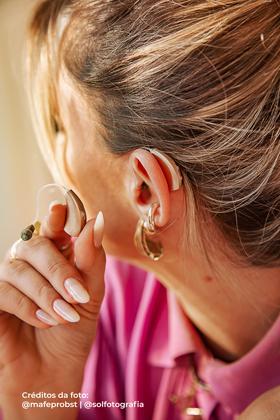 Mafe a vida antes e depois do aparelho auditivo